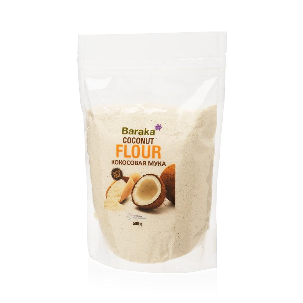 Мука Baraka Coconut Flour, 500 г