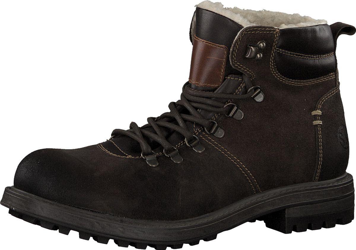 Ботинки мужские S.Oliver, цвет: темно-коричневый. 5-5-16221-21-302/115. Размер 405-5-16221-21-302/115