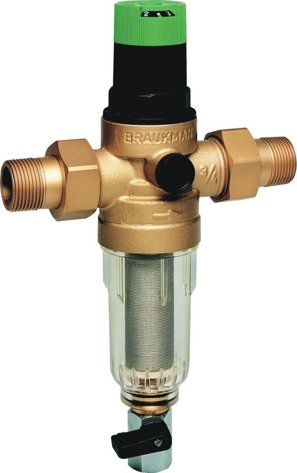 Сетчатый фильтр Honeywell FK06-3/4AA. 1077h honeywell fk06 3 4aam с редуктором на горячую воду 100 мкм 3 4