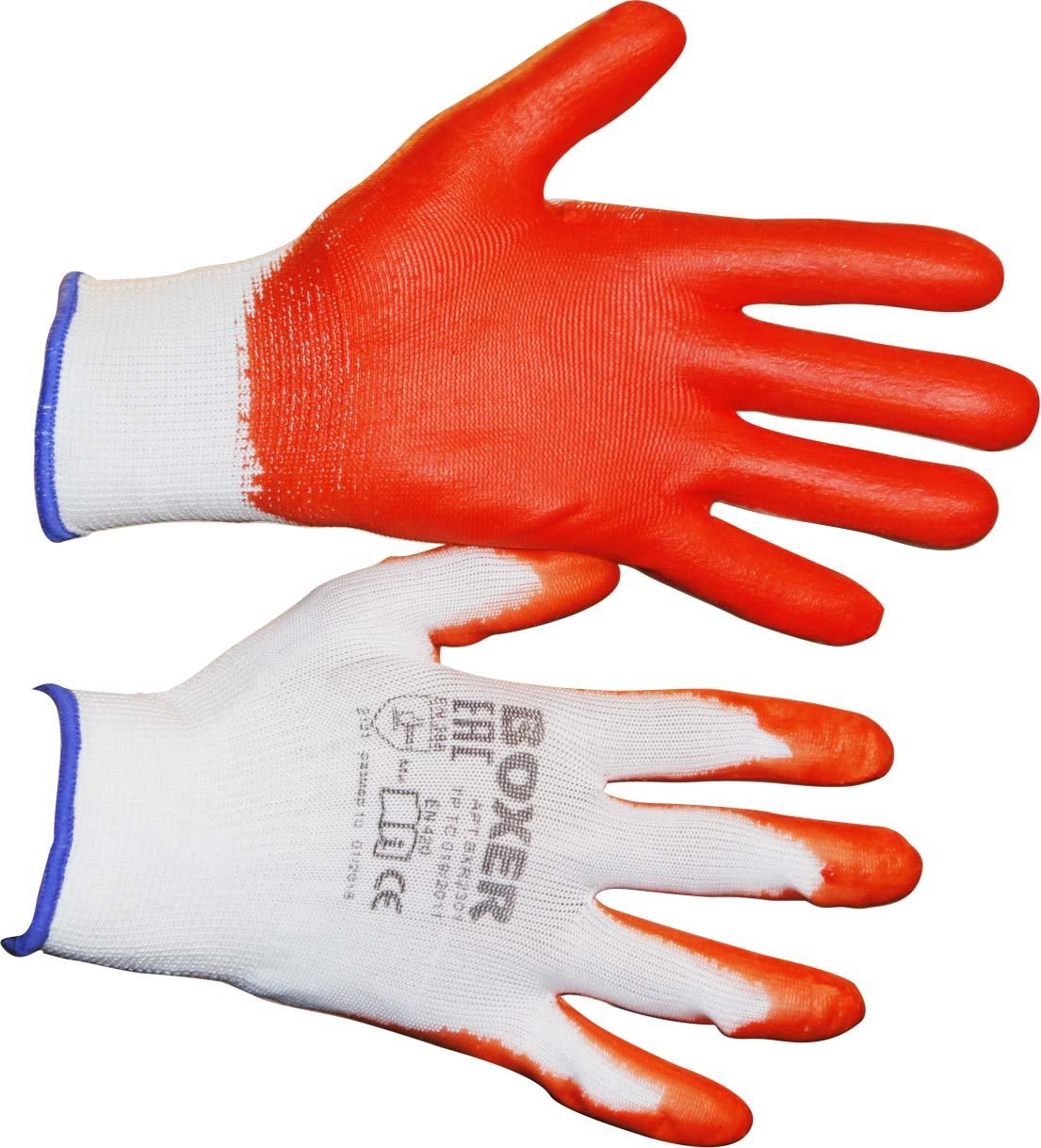 Перчатки защитные Boxer, с облегченным нитриловым покрытием. BXR2301Sticker перчатки защитные boxer с облегченным нитриловым покрытием bxr2301sticker