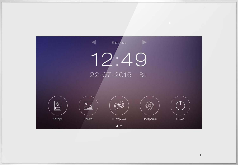 Видеодомофон Tantos Marilyn Wi-Fi, цвет: белый tantos amelie slim видеодомофон white