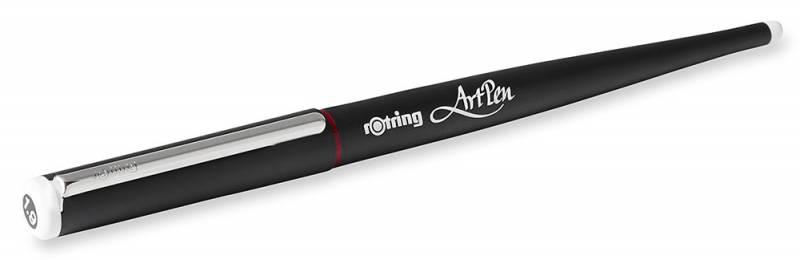 Ручка перьевая пластиковая для каллиграфии Rotring Artpen Calligraphy, цвет: черный, 1.9мм ручка перьевая pentel tradio calligraphy pen 1 8mm black trc1 18a