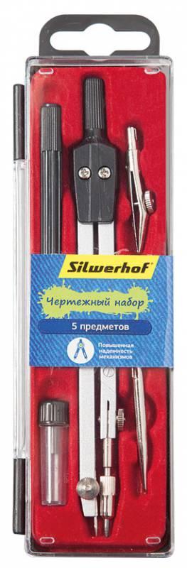 Готовальня Silwerhof, металл, 5 предметов цена 2017