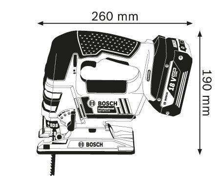 Лобзик Bosch. GST 18 V-LI