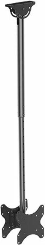 Кронштейн для телевизора Arm Media LCD-1650, цвет: черный кронштейн для телевизора arm media steel 2 new черный 32 90 макс 40кг настенный наклон