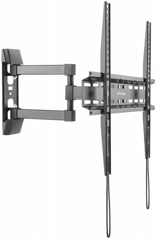 Кронштейн Arm Media LCD-414 черный для LED/LCD ТВ 26-55 настенный до 35кг кронштейн arm media lcd 7101 черный для lcd led тв 10 26 настенный 4 степени свободы vesa 75 100 max 15 кг
