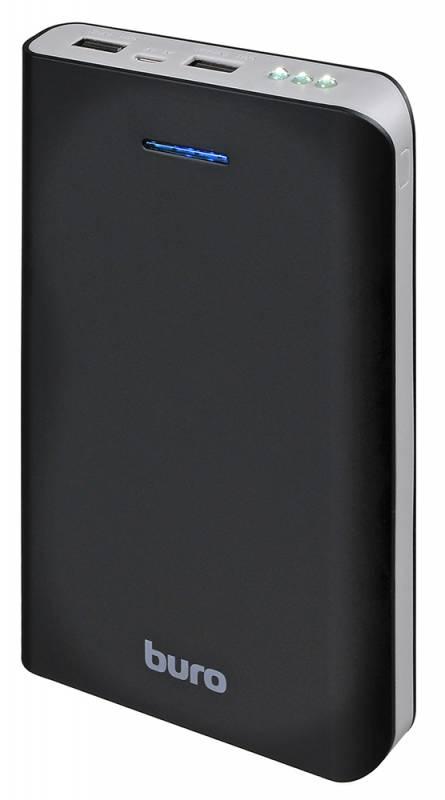 Мобильный аккумулятор Buro RA-25000 Li-Ion 25000mAh 2.1A+1A черный 2xUSB цена