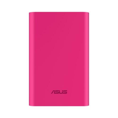 Фото - Мобильный аккумулятор Asus ZenPower Duo ABTU011 Li-Ion 10050mAh, 2.4A+1A, 2xUSB, 90AC0180-BBT025,478239, розовый внешний аккумулятор power bank 10050 мач asus zenpower abtu012 li ion 10050mah серебристый