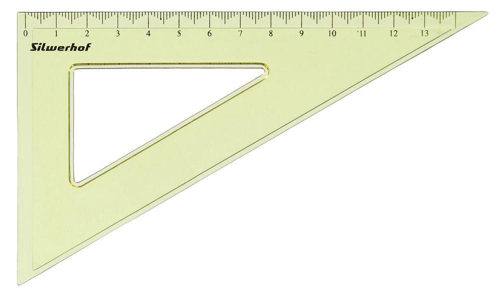 Треугольник Silwerhof Пластилиновая коллекция, пластик, 14 см цена