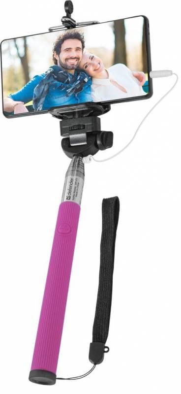 Монопод для селфи Defender Selfie Master, розовый