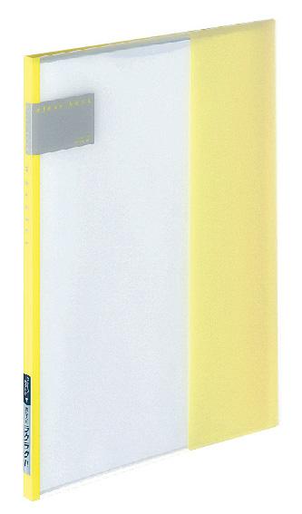 Папка Kokuyo RA-T1-8, 8 прозрачных вкладок, A4, цвет: желтый. 990682 kokuyo высокая прозрачная офисная сумка книга с документами карманная файловая книга папка с листом бумаги a4 60 страниц желтый wcn tcb2610y