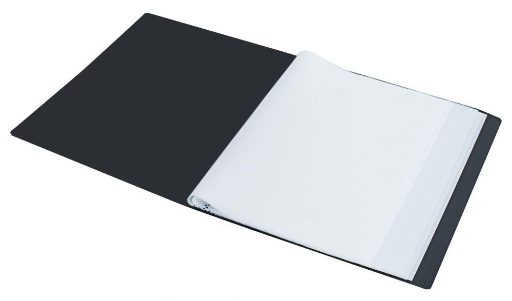 Папка Silwerhof Perlen 292910-76 1006847, цвет мокрый асфальт, металлик, формат A4