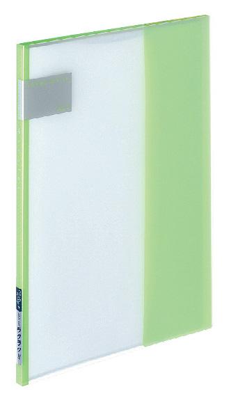 купить Папка Kokuyo, 7 прозрачных вкладышей, формат А4, цвет: светло-зеленый по цене 309 рублей