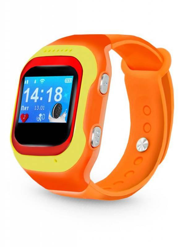Умные часы Ginzzu GZ-501, красный, желтый цена и фото