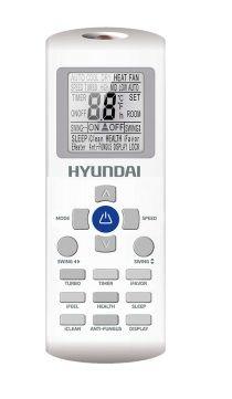 Сплит-система Hyundai H-AR16-09H, цвет: белый сплит система samsung ar07jqfsawkner