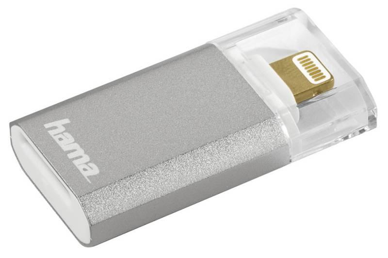 Устройство чтения карт памяти Hama Lightning, 00124155, серебристый hama 49016