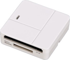Устройство чтения карт памяти Hama H-94125 USB2.0, 00094125, белый hama hama h 54746