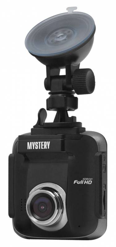 Видеорегистратор Mystery MDR-885HD черный 5Mpix 1080x1920 1080p 130гр. Ambarella A5 видеорегистратор mystery mrd 830hdvs