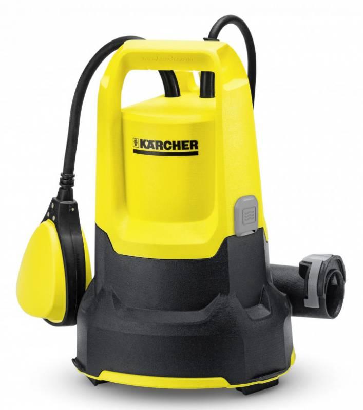 купить Садовый насос Karcher SP 2 Flat, дренажный, 250 Вт, 6000 л/час, желтый, черный, 365424 онлайн