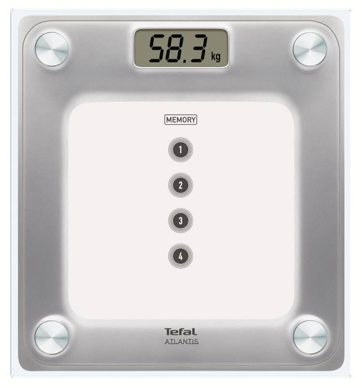 Весы напольные Tefal PP3020V1 , белый tefal cm4105