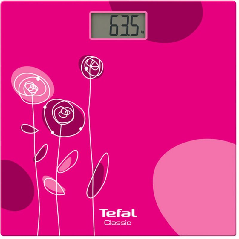 Весы напольные Tefal PP1147V0 , розовый tefal cm4105