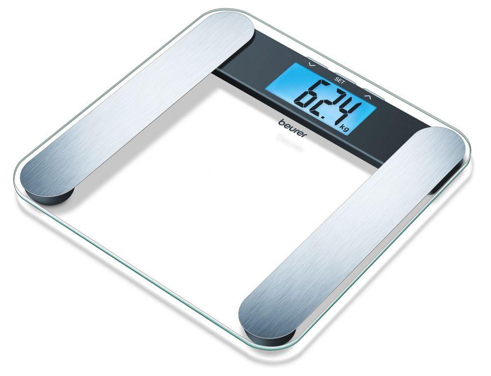 Весы Beurer BF220 748.13 напольные электронные, цвет прозрачный весы напольные beurer bf600 style