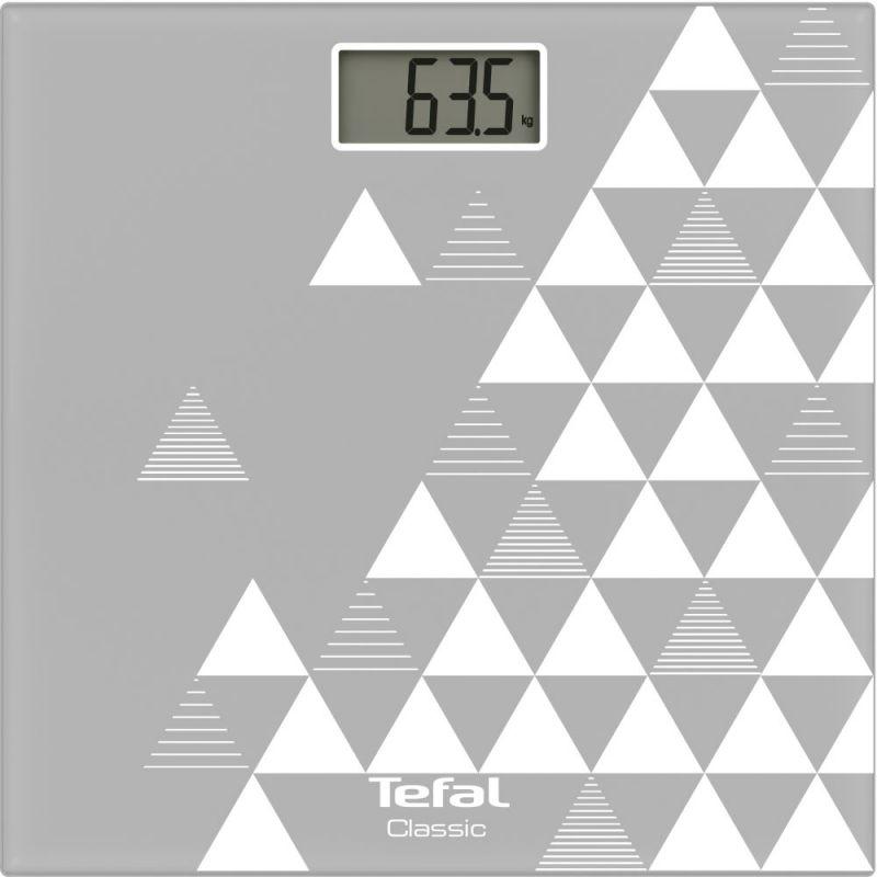 Весы напольные электронные Tefal PP1144V0 макс.160кг серый/белый цена и фото