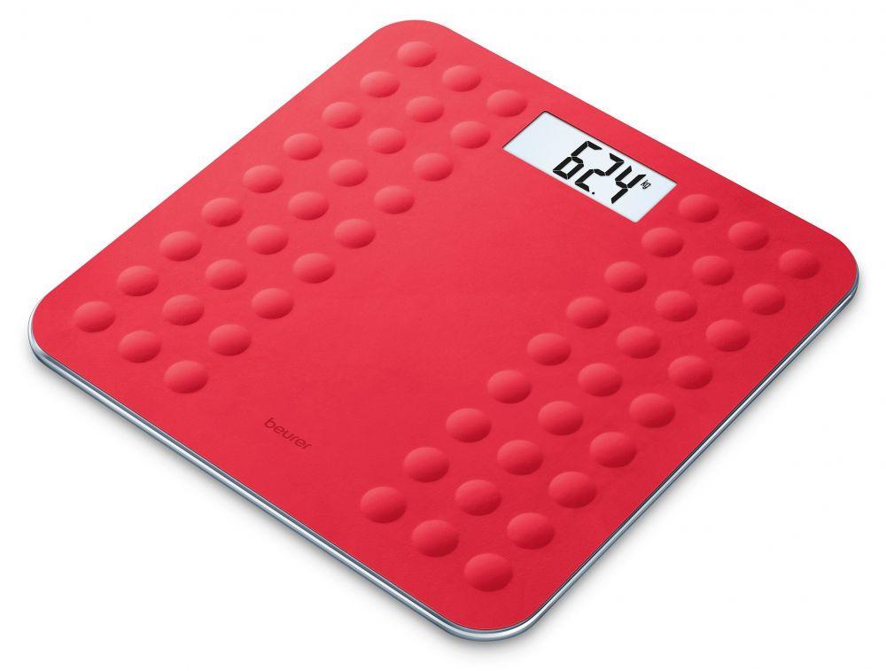 Весы напольные Beurer GS300, электронные, до 180 кг, цвет красный весы напольные электронные gs 300 beurer чёрные