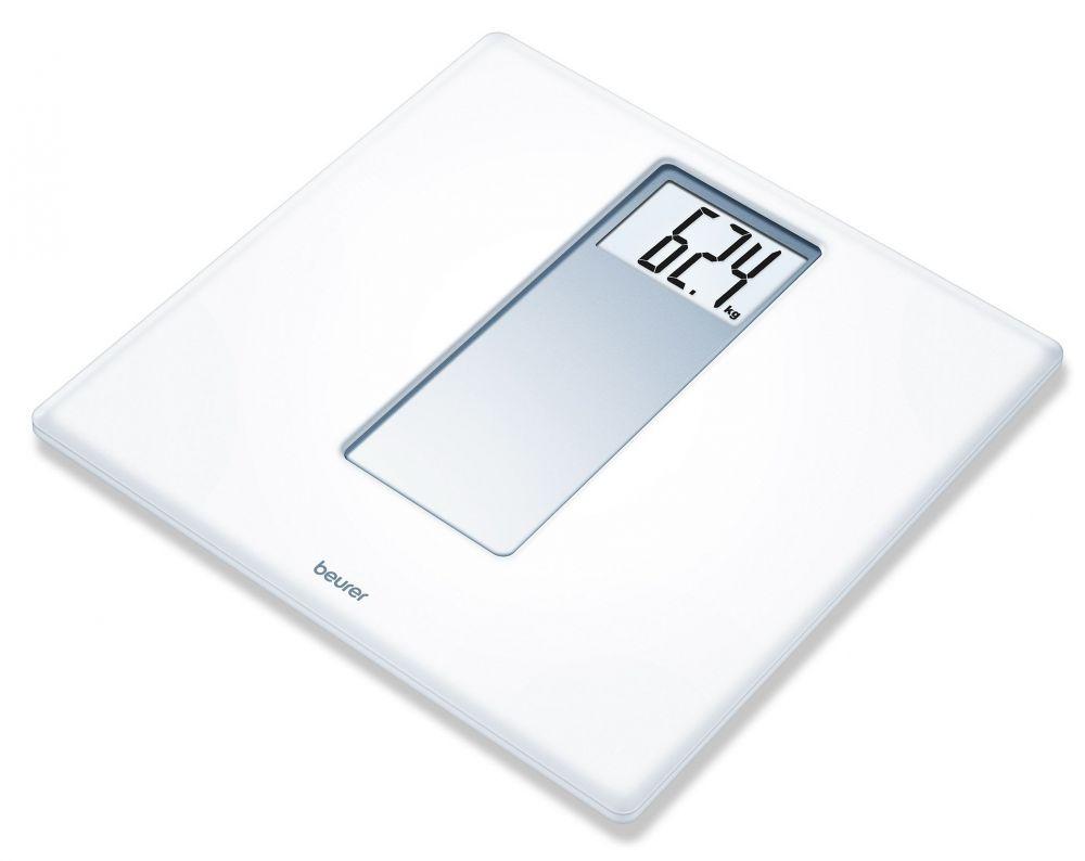 Весы Beurer PS160 725.30 напольные электронные, цвет белый весы напольные beurer bf600 style