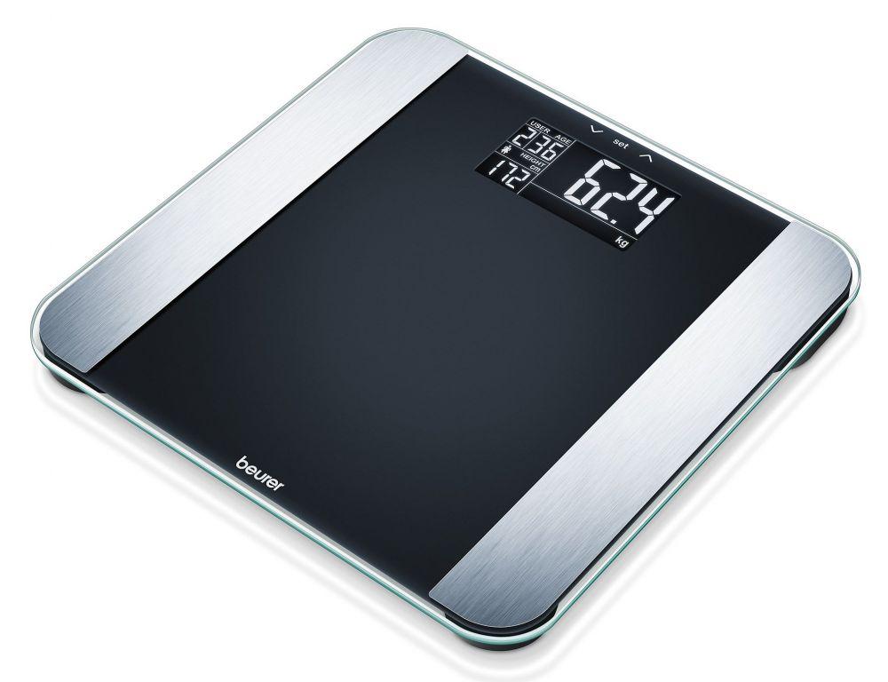 цена на Весы напольные Beurer BFLE, электронные, до 180 кг, цвет черный