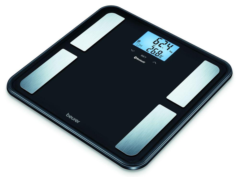 цена на Весы напольные Beurer BF850, электронные, до 180 кг, цвет черный