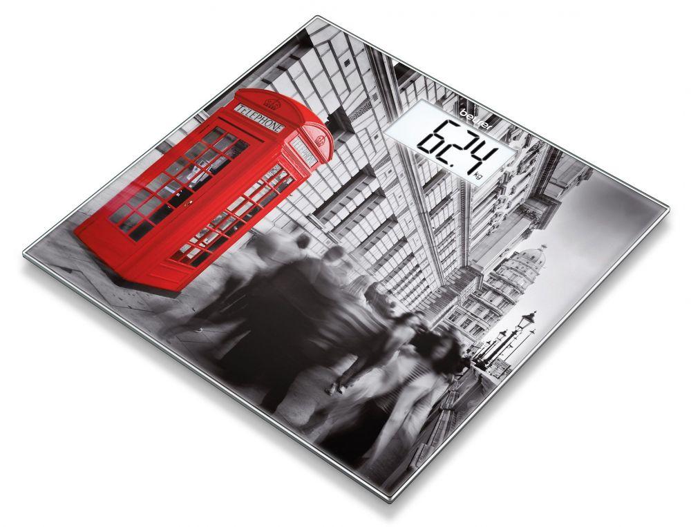 лучшая цена Весы напольные Beurer GS203 London