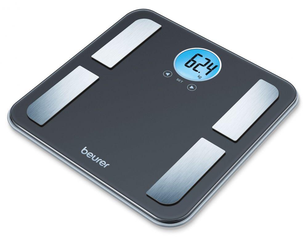 Весы Beurer BF195, напольные электронные, макс. 180 кг, цвет: черный