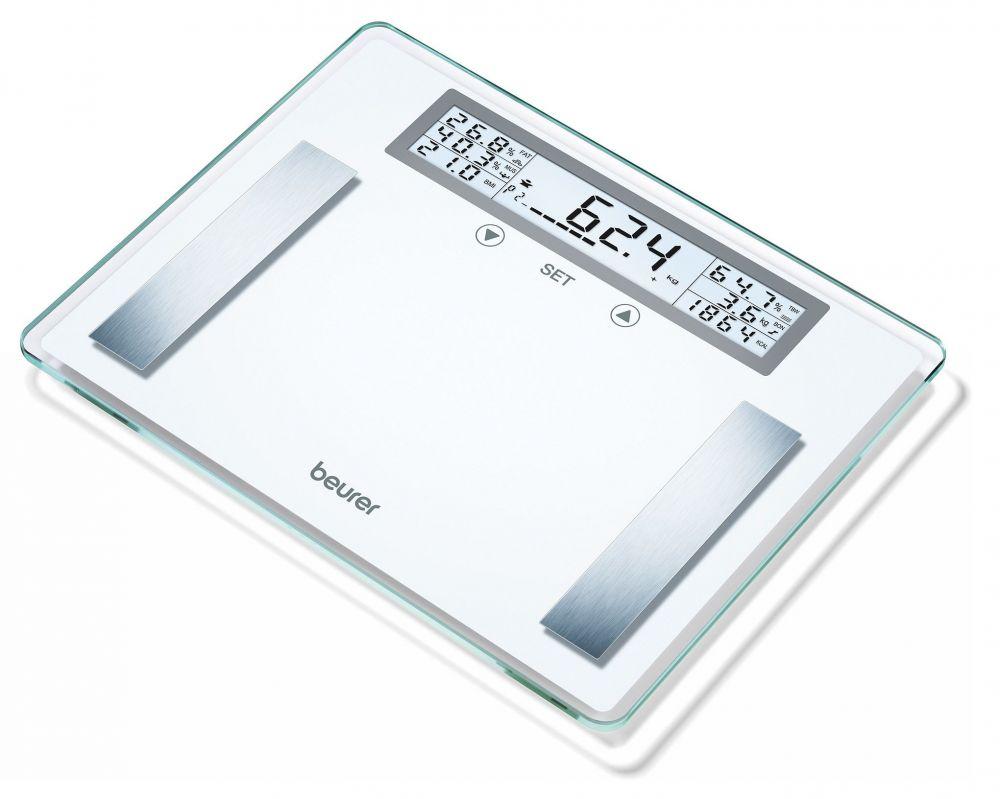 Весы напольные Beurer BG51 XXL, электронные, до 200 кг, цвет белый