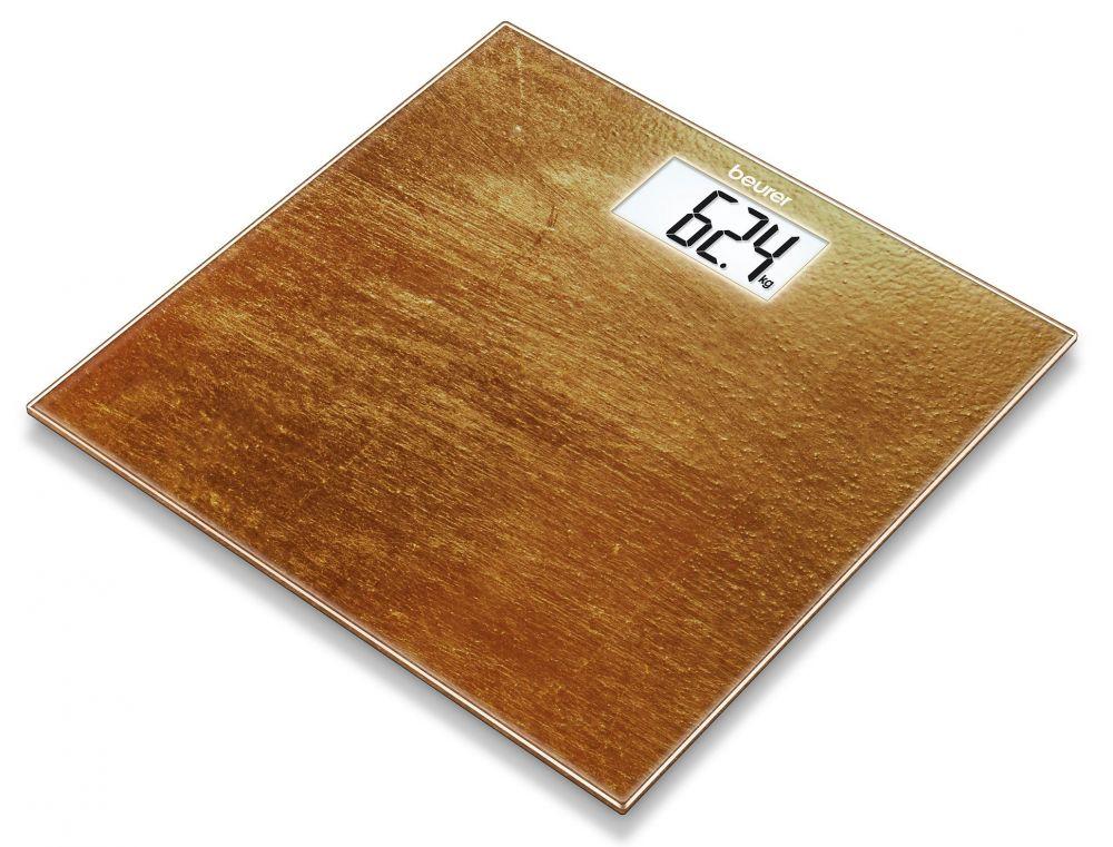 Весы Beurer GS203 Rust, напольные, электронные, цвет: коричневый весы напольные электронные gs 300 beurer чёрные