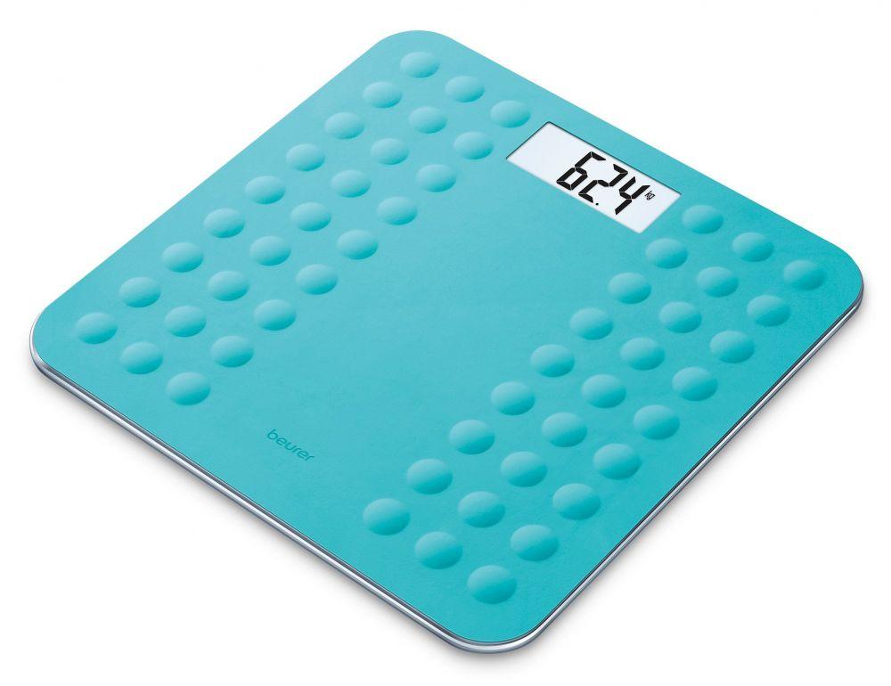 Весы Beurer GS300 756.06 напольные электронные, цвет бирюзовый