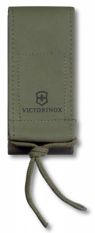 Чехол из иск.кожи Victorinox Leather Imitation Belt Pouch (4.0837.4), цвет: зеленый, с застежкой на липучке, без упаковки