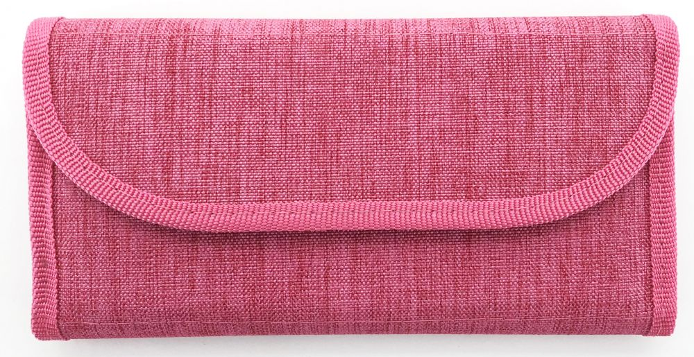 Пенал Silwerhof, 1 отделение, 220x115 мм, текстиль, цвет: розовый цена