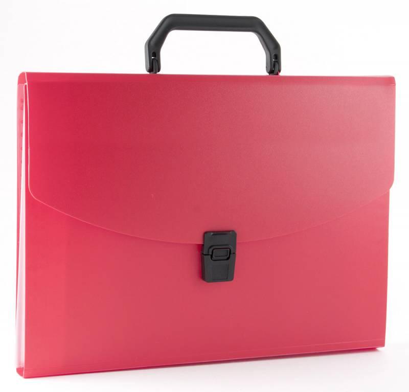 Папка-портфель Бюрократ -BPP6RED, 6 отделений, A4, красный папка портфель бюрократ bpp6lgrn 6 отделений a4 зеленый