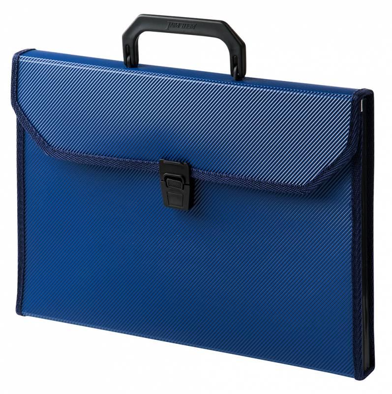 Папка-портфель Бюрократ-BPP13TL, 13 отделений, A4, цвет в ассортименте