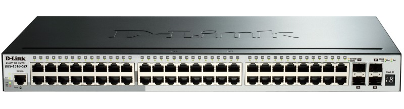 Коммутатор управляемый D-Link DGS-1510-52X/ME/A1A 48G 4SFP+, 354617