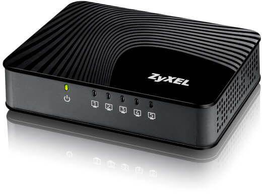 Коммутатор Zyxel GS-105S V2 GS-105SV2-EU0101F 5G неуправляемый