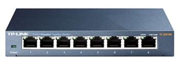 Коммутатор TP-Link TL-SG108 790274 8G неуправляемый, 790274 коммутатор tp link tl sg2008