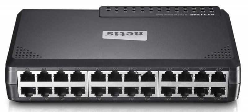 Коммутатор Netis ST3124P 24x100Mb, неуправляемый, 410325