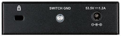 Коммутатор D-Link DES-1005P/B1A, 1088648, черный