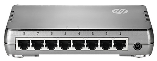 Коммутатор HPE JH408A,415106, цвет: серебристый