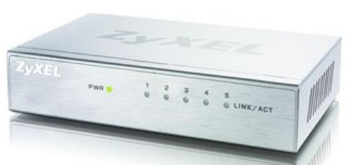 Коммутатор Zyxel GS-105B v3, 597682, белый цена