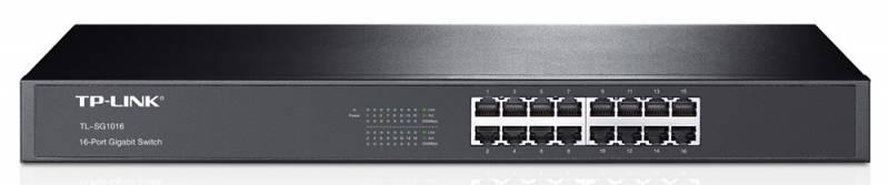 Коммутатор TP-Link TL-SG1016 811025 16G неуправляемый, 811025