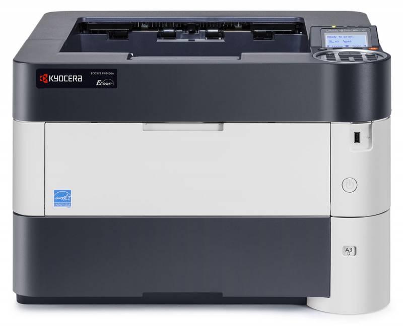 Принтер лазерный Kyocera P4040DN Duplex Net A3 1102P73NL0