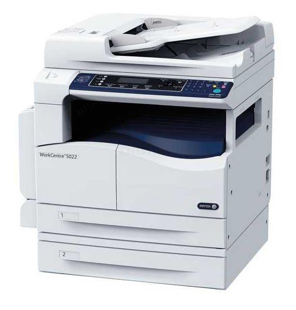 МФУ Xerox WorkCentre WC5022DN, A3 Duplex Net, 5022V_U / 428418, лазерный, белый, синий цена